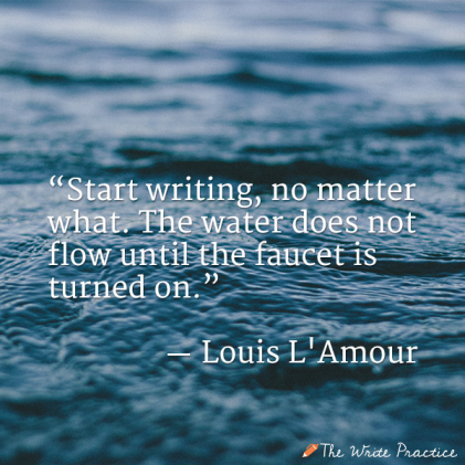 Louis-LAmour-start-writing-louis-lamour-quote